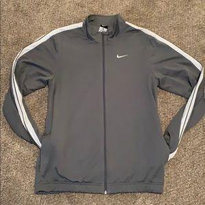 Nike Jackets & Coats - Nike gray basketball jacket